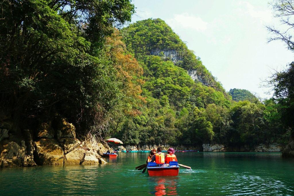 游罢小七孔风景区,感受这片美丽的山山水水,如同一部绝美的风光大片