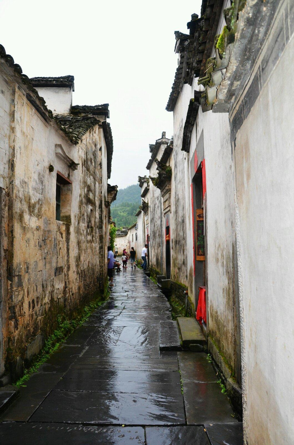 壁纸 风景 古镇 建筑 街道 旅游 摄影 小巷 1024_1547 竖版 竖屏 手机