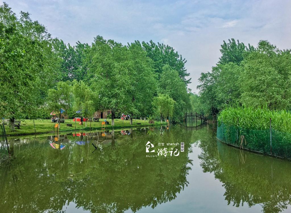 常州城东生态绿肺,这里的风景美如画