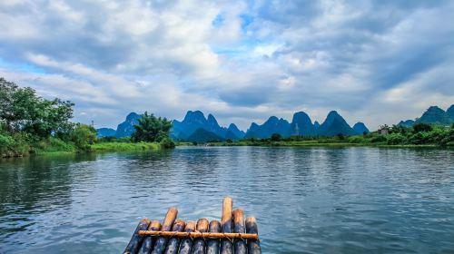 桂林的遇龙河风景图片