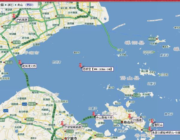 上海到普陀山自驾游路线住宿攻略