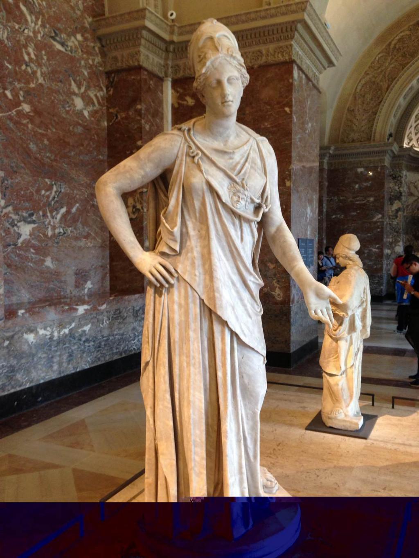 雅典娜女神雕像