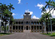依欧拉尼皇宫-夏威夷-兔爺